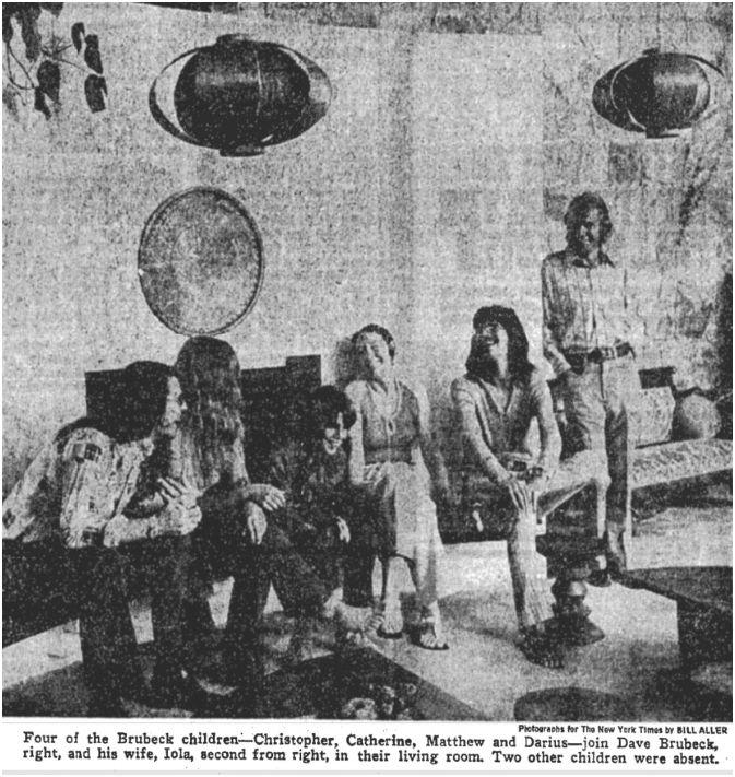 Brubeck Family NYT article.jpg